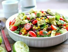 Avocado and Three Bean Salad your new side dish