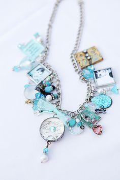 turquoise charm bracelet   ♥ Heartbeatoz ♥