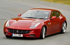 First four-wheel drive Ferrari