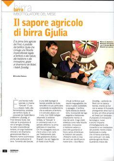 Il sapore agricolo di birra Giulya Tecniche Nuove