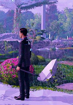 Organic Gardening For Dummies Detroit Become Human Actors, Detroit Become Human Connor, Gardening For Dummies, Quantic Dream, Becoming Human, Love And Respect, Father And Son, Movies Showing, Video Games