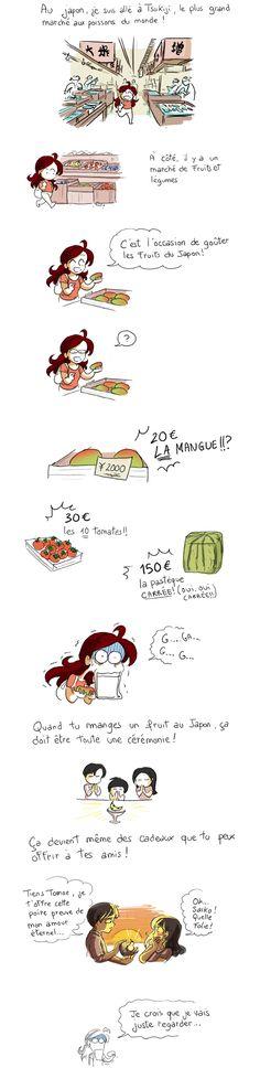 Le japon, les fruits, le luxe !