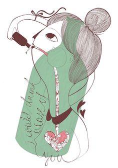 Illustration by Manon Bijkerk - La Nonette