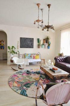 LIA Leuk Interieur Advies/Lovely Interior Advice #RoundRugs