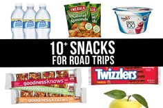 Is a road trip the same without munchies?!? Here are 10+ Snacks for Road Trips to enjoy during your holiday travels!