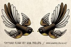 These are fantail tattoos Hamish Duncan Young asked me to design in the traditional swallow tattoo shape. Trendy Tattoos, Love Tattoos, Body Art Tattoos, Tattoos For Guys, Mens Tattoos, Tatoos, Nature Tattoos, Wrist Tattoos, Beautiful Tattoos