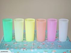 Retro / Vintage Tupperware Tumblers | Trade Me