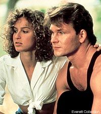 Jennifer Grey as 'Baby' and Patrick Swayze as Johnny in 'Dirty Dancing', Dirty Dancing, Dancing Baby, Jennifer Grey, Love Movie, I Movie, Movie Stars, Film Music Books, Music Tv, Looks Style