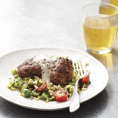 For a new twist on tabbouleh, we use earthy, whole-grain freekeh combined with cucumber, parsley and tomatoes. Recipe for Freekeh Tabbouleh with Spiced Lamb Kofta.