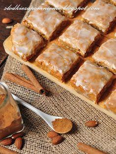SLODKIE ZAPOMNIENIE.BLOGSPOT.COM: PIERNICZKI Z BAZYLEI - BASLER LECKERLI Spice Cookies, Breakfast Menu, Apple Pie, Recipies, Spices, Baking, Polish, Cakes, Food