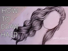 How to Draw Wavy Hair - YouTube