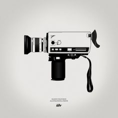 make it look good, draw super 8.  make it look great, add vignette.   (Gianmarco Magnani)