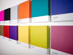 Selection of Pantone Wall Art