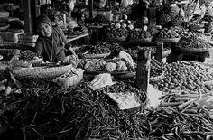 Pedagang di Pasar