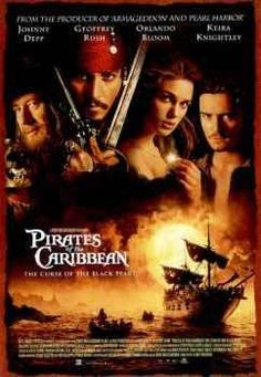"Pirates of the Caribbean Movie Poster This is still my favorite ""Pirates"" movie."