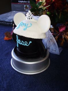 Bridal shower cake top made from sugar paste and fondant.