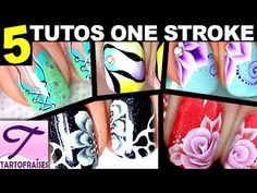 [Ongles Courts] 5 tutos One Stroke peinture - tous niveaux ! https://www.youtube.com/watch?v=AROJiXoWyeQ&index=34&list=PLD45D2107D644AF59