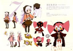 Mahou Shoujo Madoka Magica | Shaft / Momoe Nagisa and Charlotte