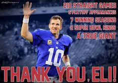 Eli Manning Super Bowl, New York Giants Football, G Man, Chest Workouts, I Love Ny, Sports Figures, Football Players, Nfl, Places