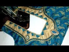 easy  design blouse cutting and stitching at home 2017 - YouTube