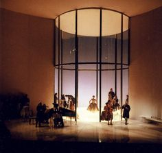 Capriccio from Staatsoper Dresden 2005. Production and designs by Marco Arturo Marelli.