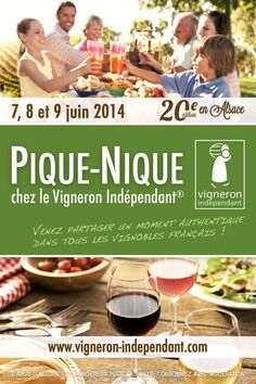 Pique-nique chez le Vigneron indépendant édition 2014