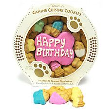Claudia's Canine Cuisine Pink Birthday Cookie Dog Treat