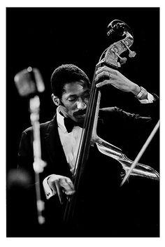 Ron Carter at his bass