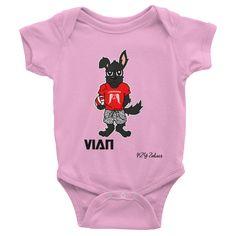Vian Dog Chinese Zodiac Baby Onesie – Stellar Names