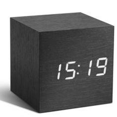 decovry.com+-+The+Father+|+Cube+Klok+Zwart+/+Wit