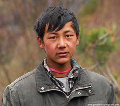 Boy in Yubeng Village, Yunnan, CHINA