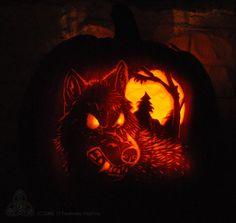 42 Best Werewolf Pumpkin Carvings Images On Pinterest Halloween