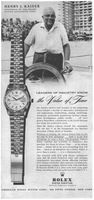 Henry J. Kaiser Rolex Datejust Watch Oyster Perpetual 1958 Ad Picture