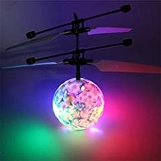 RC Flying Ball Toy RC Drone Helicopter Ball Built-in Shinning LED Lighting for Kids Teenagers Colorful Flyings Kids Toys Krystal Flying Helicopter, Kid N Teenagers, Led Lantern, Lanterns, Adolescents, Best Kids Toys, Remote Control Toys, Glass Ball, Cool Kids
