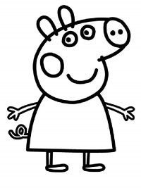 Peppa Pig and her family is here. Print, trace and colour them!: Have fun! Peppa Pig and her family is here. Print, trace and colour them!: Have fun! Peppa Pig Baby, Cumple Peppa Pig, Peppa Pig Birthday Cake, Baby Pigs, Peppa Pig Cakes, Peppa Big, 4th Birthday, Peppa Pig Coloring Pages, Valentine Coloring Pages