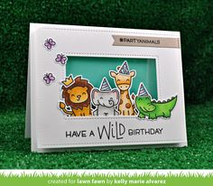 Hello and welcome to Lawn Fawn's Summer 2017 Inspiration and Release  week! On May 18th our 10 new stamp sets and their coordinating  die...