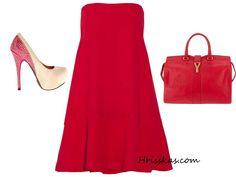 on Стилът на Hrisskas: Мода, дрехи и аксесоари  http://www.hrisskas.com/social-gallery/hrisskas-style-red-and-white-1