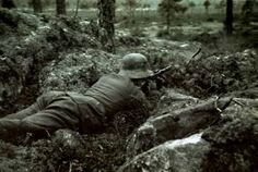 Finnish soldier, color photo, pin by Paolo Marzioli