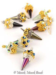 Les Pointes Boheme by Manek-Manek Beads - Jewelry | Kits | Beads | Patterns