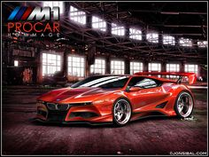From artist Jon Sibal comes a fantastic concept based off the BMW M1 Homage Concept Car that was revealed back in 2008. With styling cues that can kill the unprepared as well as the interesting use of such a huge wing, I do believe Sibal makes the original Homage car look COMPLETELY boring with this new rendition. Below is his detailed story of how he went about designing the BMW M1 PROCAR Concept.