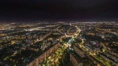 Wrocław by night - skytower