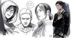 Eren, Reiner, Ymir & Berholt || Shingeki no Kyojin┋Атака Титанов┋Attack on Titan