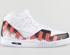 """As hoped, Nike's Air Tech Challenge II """"French Open"""" will be seeing a wider launch in the coming weeks. This combination edition of the Air Tech Challenge II, which was seen on the feet of Andre Agassi at the French Open Finals back in 1990, is proving …"""