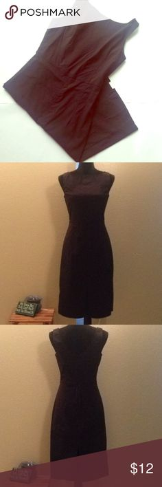 🆕 🆑clearance🆑 Express black dress Dress is in great condition, zips up from the back and has 9.5in slits in the front and back. Express Dresses