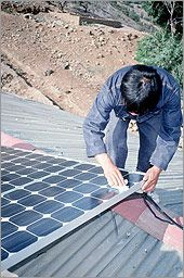 Installing and Maintaining a Small Solar Electric System