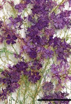 Hydrangea Fabrics form real flowers. Jan Beany and Jean Littlejohn.