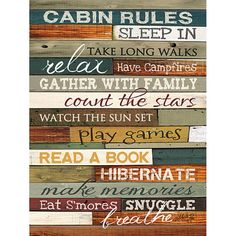 Take a look at this 'Our Family Rules' Canvas Wall Art by COURTSIDE MARKET on today! ***I like the different wood pieces/colors. Good DIY out of the old barnwood for different sayings. Wood Wall Art, Canvas Wall Art, Big Canvas, Family Canvas, Family Rules, Family Signs, Group Rules, Beach Signs, Design Furniture