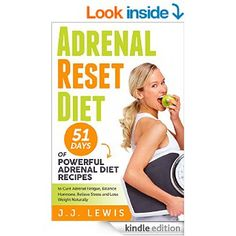 Adrenal Reset Diet: 51 Days of Powerful Adrenal Diet Recipes to Cure Adrenal Fatigue, Balance Hormone, Relieve Stress and Lose Weight Naturally eBook: J.J. Lewis: Amazon.co.uk: Books