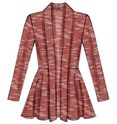 McCalls 6844 - my peplum jacket- going to make it out of rust fabric. #fallintofashion14  #mccallpatterncompany