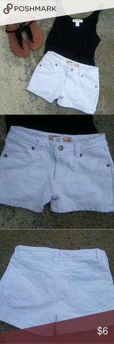 White shorts Cute white shorts. Great for summer. No marks or rips  *NO TRADES* Shorts
